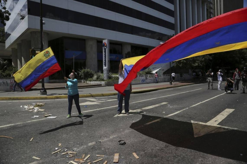 Venezuela feud