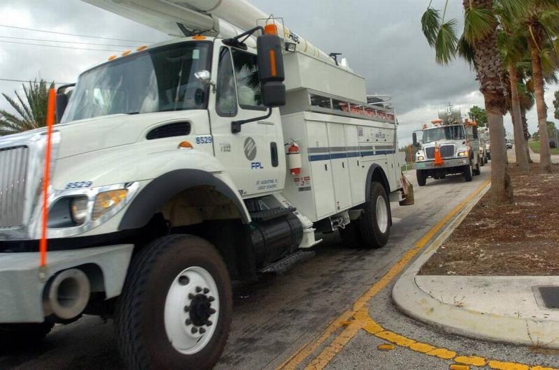 FPL trucks