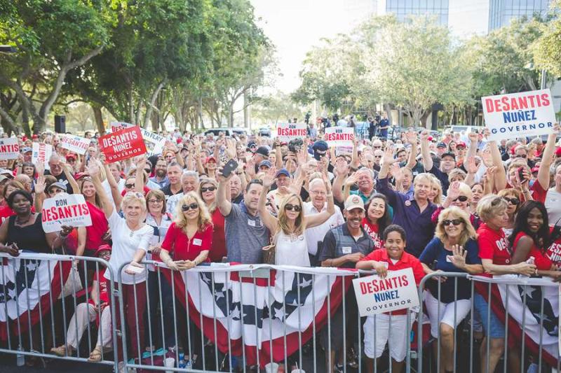 Desantis rally