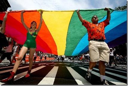 APTOPIX_Gay_Pride_Parade_NY
