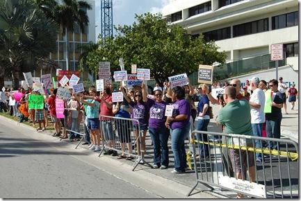 Miami Beach gay protest 003
