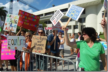 Miami Beach gay protest 006