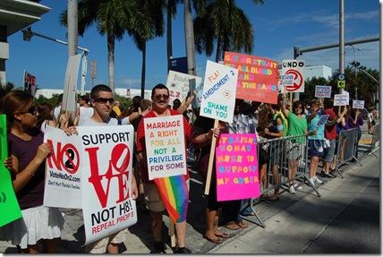 Miami Beach gay protest 008