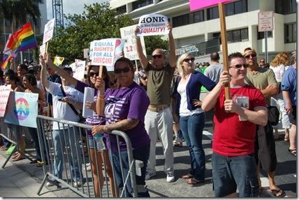 Miami Beach gay protest 014