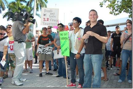 Miami Beach gay protest 028