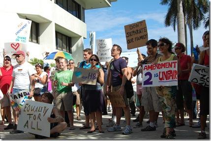 Miami Beach gay protest 031