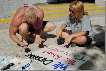 Miami Beach gay protest 032