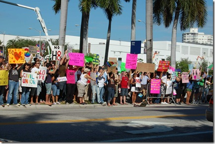 Miami Beach gay protest 036
