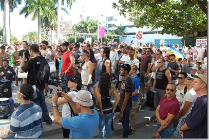 Miami Beach gay protest 045