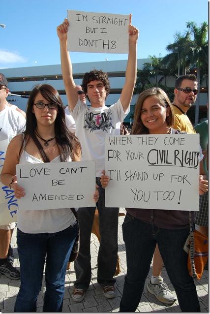 Miami Beach gay protest 048