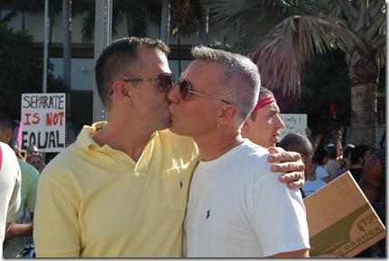 Miami Beach gay protest 057