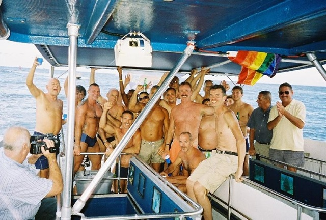Exclusively for gay men. Abard the SeaExperience from Bahia Mar in Ft ...