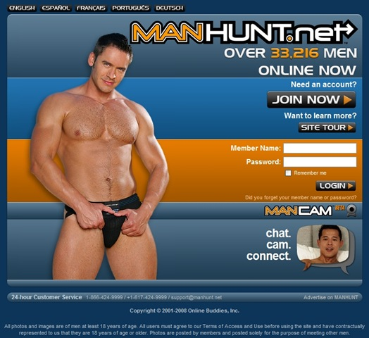 Big controversy on the gay political blogs about Manhunt Chairman Jonathan ...