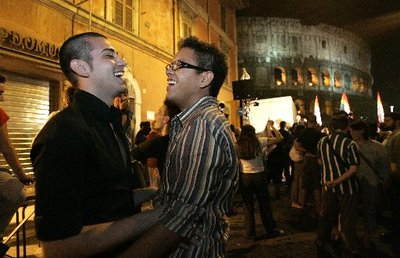 Italian gay and lesbian activists are asking Rome's municipality authorities ...