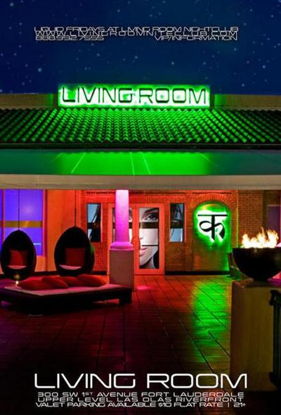 Living Room Nightclub Miami On Liquid Fridays At What Are Your Senses Join